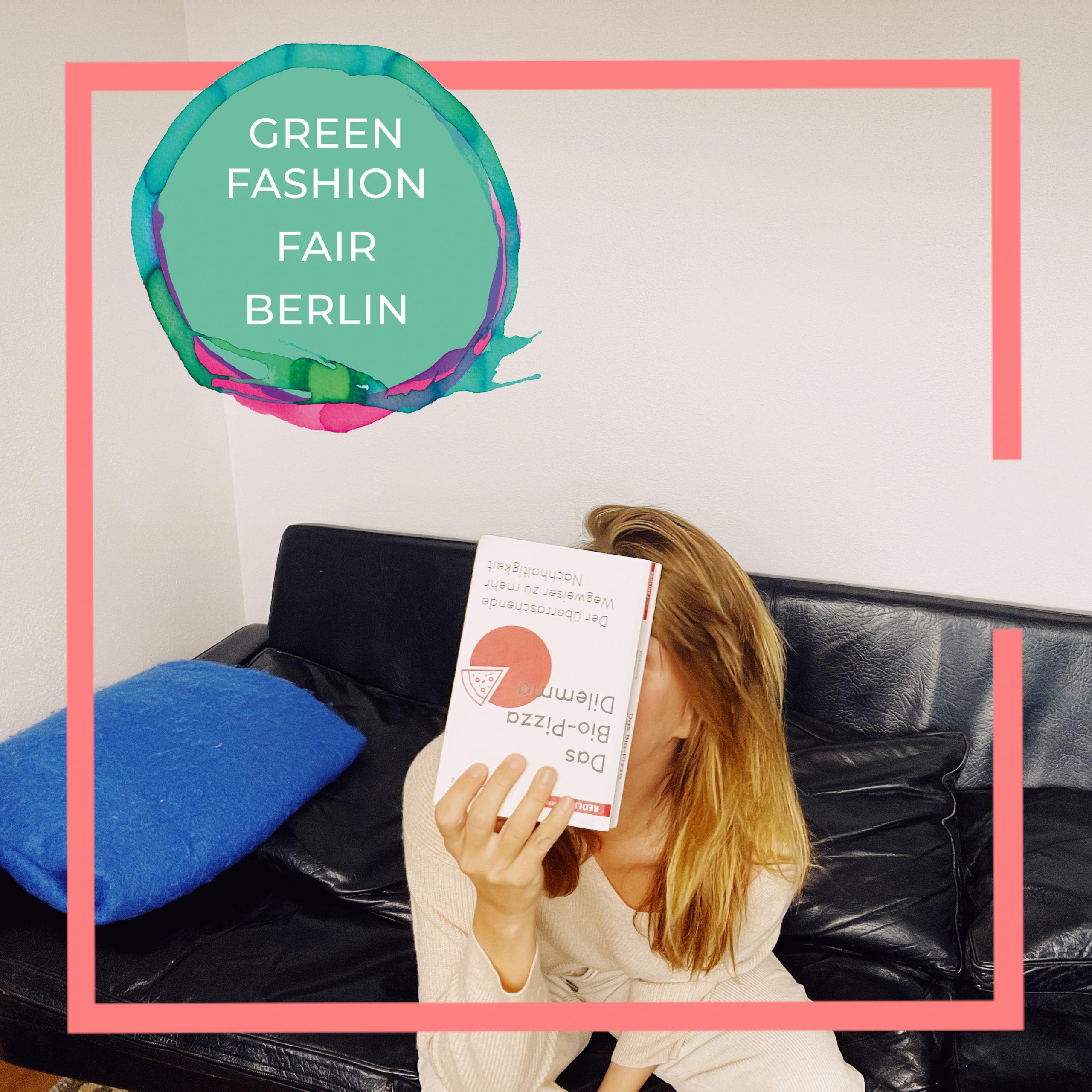 Thekla Wilkening Bio-Pizza Dilemma: Green Fashion Fair Berlin